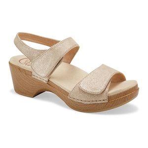 Dansko Shimmer Sonnet Sandals